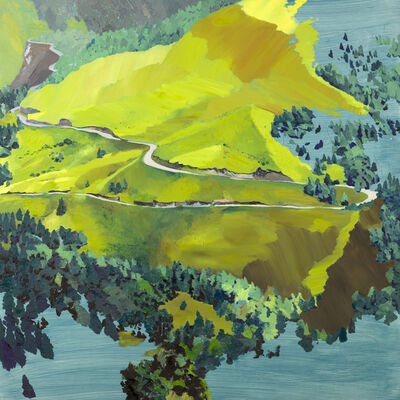Chih-Hung Kuo, 'A Mountain-3', 2014
