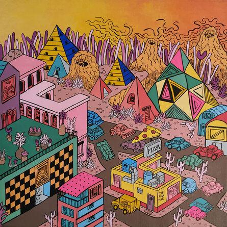 Stephanie Yong, 'Fantasy Township II', 2019