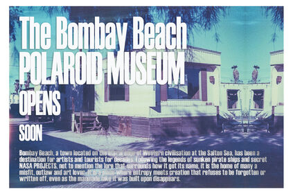 The Bombay Beach Polaroid Museum