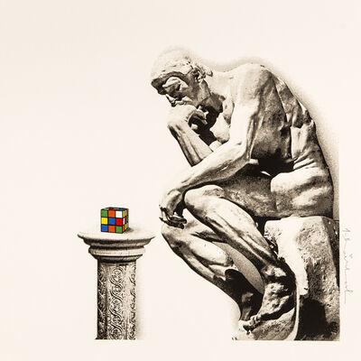 Mr. Brainwash, 'Thinker - Rubik's Collection ', 2021