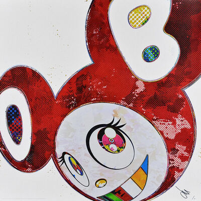 Takashi Murakami, 'And Then × 6 (Vermilion: The Superflat Method)', 2013