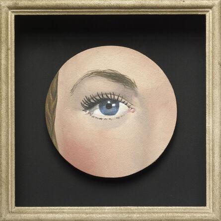 René Magritte, 'Painted Object: Eye (Objet peint: Œil)', 1932/35
