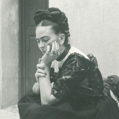 Lola Alvarez Bravo, 'Frida Kahlo', 1944