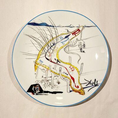 Salvador Dalí, 'Les montres gélatines de l'espace temps', 1984