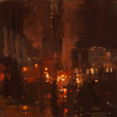 Jeremy Mann, 'Cityscape - Composed Form Study No. 27'