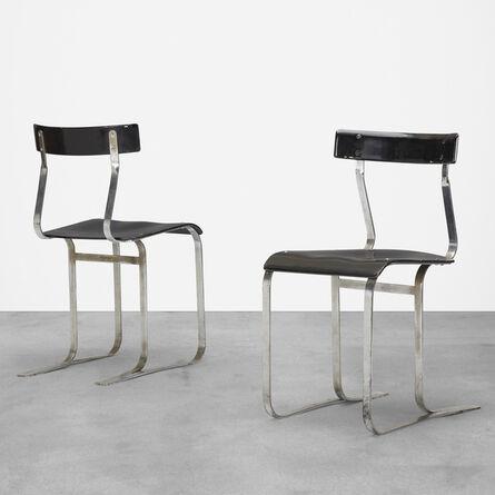 Marcel Breuer, 'chairs model WB301, pair', c. 1933