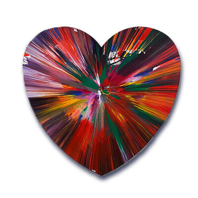 Damien Hirst, 'Heart spin', 2009