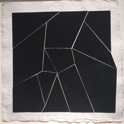 Kenneth L. Greenleaf, 'Black Collage 11', 2014