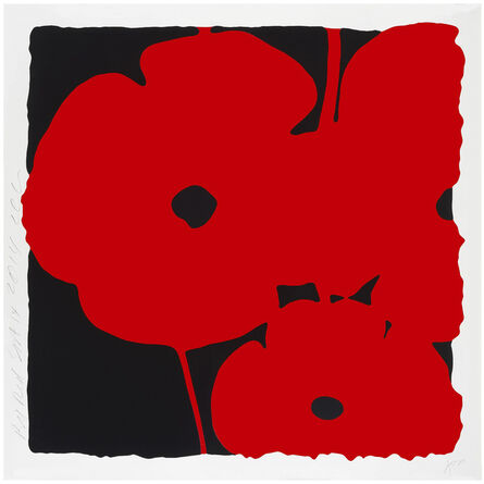 Donald Sultan, 'POPPIES, JUNE 8, 2011 (RED)', 2011