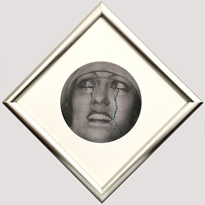 "Francesco Vezzoli, 'Study for ""Four Fabulous Faces: Joan & Gloria""', 2001"