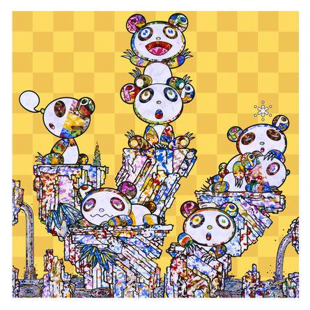 Takashi Murakami, 'Child panda panda', 2020