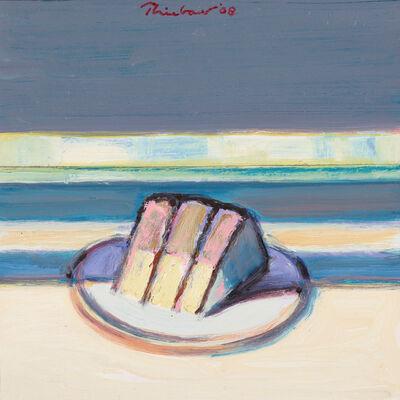 Wayne Thiebaud, 'Cased Slice', 2008
