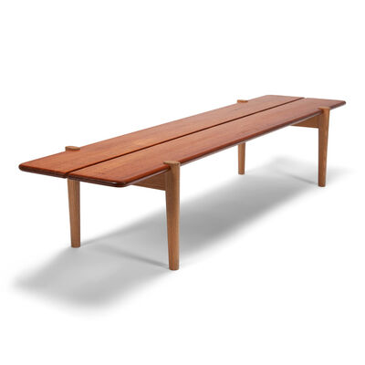 Hans Jørgensen Wegner, 'Bench/coffee table', ca. 1954