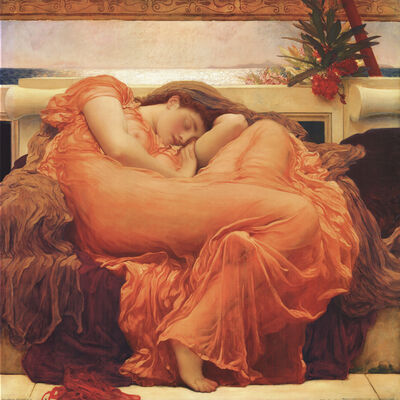 Lord Frederic Leighton, 'Flaming June', 2004