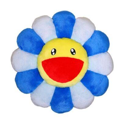 Takashi Murakami, 'Flower Cushion 30 cm (Blue)', 2020
