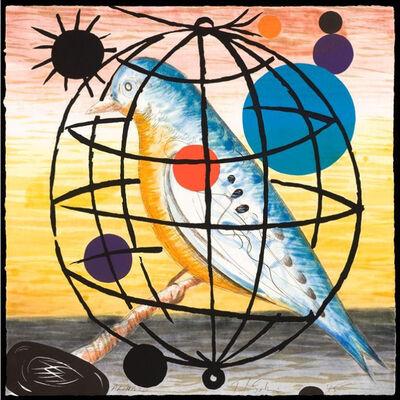 T.L. Solien, 'Psyche: The Blue Martin', 1985