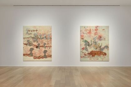 Ellen Gallagher. Ecstatic Draught of Fishes