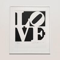 Robert Indiana, 'The Book of love Portfolio - love', 1996