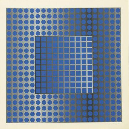 Victor Vasarely, 'ZETT KSZ', 1965