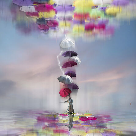 Marie-Laure Vareilles aka Maïlo, 'Colorer le monde: Equilibrer', 2019