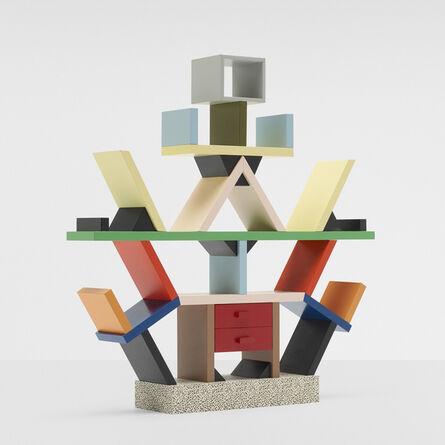 Ettore Sottsass, 'Miniature Carlton bookcase', c. 1986