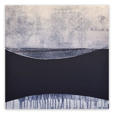 Marcy Rosenblat, 'Moonscape (Abstract painting)', 2015