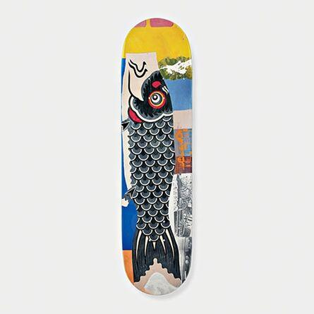 Robert Rauschenberg, 'Limited Edition Double Luck Skate board ', 2016