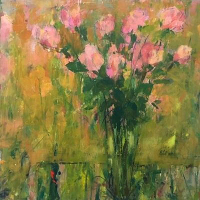 Cynthia Packard, 'Pink Tulips', 2015