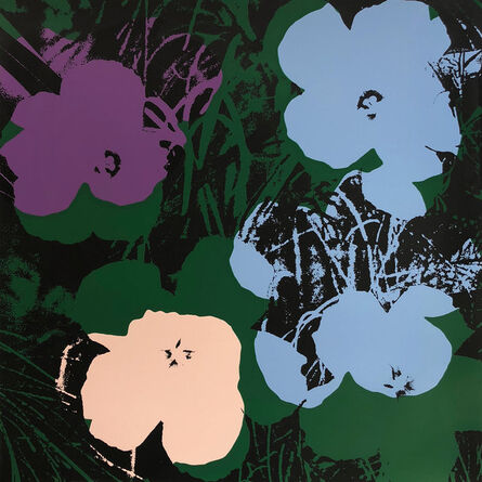 (after) Andy Warhol, 'Flowers 11.64', 1967 printed later