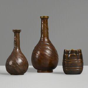 Evan Jensen, 'Vases, set of three', c. 1937