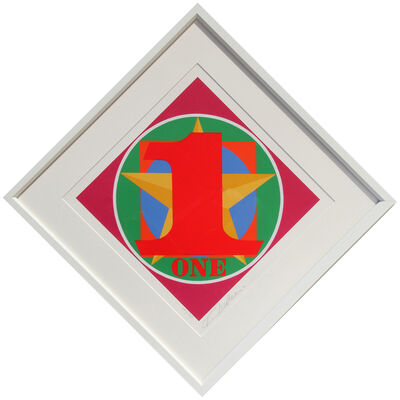 Robert Indiana, 'Number One from the American Dream Portfolio', 1997