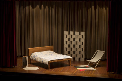 The Artist's Studio is Her Bedroom