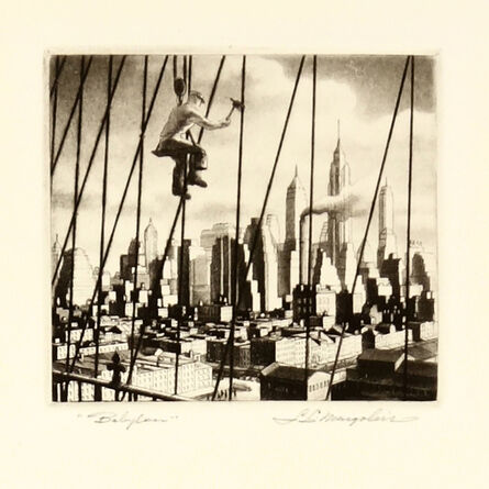Samuel L. Margolies, 'Babylon (Bridge to Babylon)', 1949