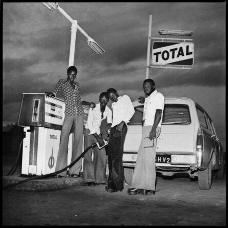 Sanlé Sory, 'Le plein chez Total, route de Banfora', 1974