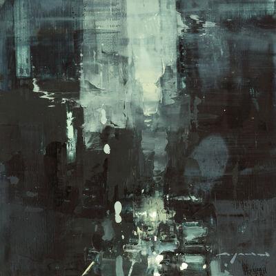 Jeremy Mann, 'Cityscape - Composed Form Study No. 24'