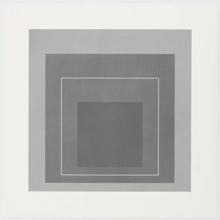 Josef Albers, 'homage to the square', 1966