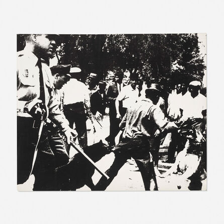 Andy Warhol, 'Birmingham Race Riot (from the Ten Works X Ten Painters portfolio)', 1964