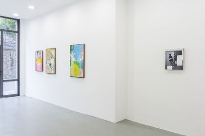 """""""Up and down: popular culture"""". Group show."""