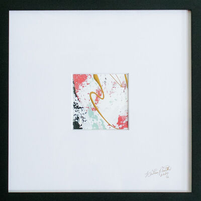 Whitney Pintello, 'California Gold No. 4- Gestural Contemporary Abstract Small Scale Painting', 2020