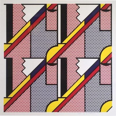Roy Lichtenstein, 'Modern Print', 1971