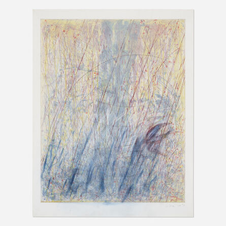Pat Steir, 'Waterfall Monoprint #31', 1988