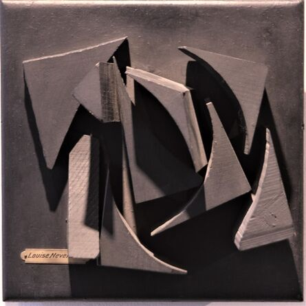 Louise Nevelson, 'Small Wood Relief', ca. 1960
