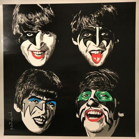 Mr. Brainwash, 'Kiss The Beatles Mr. Brainwash Print 2010 NYC ICONS Show Re-Mix Music', 2010