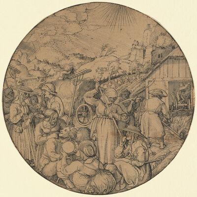 Jorg Breu I, 'The Hay Harvest (June)', in or before 1521