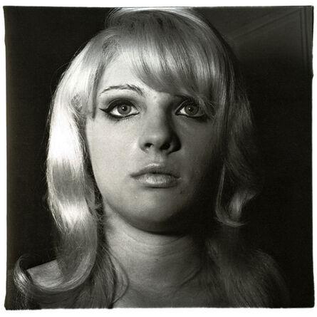Diane Arbus, 'Blond Girl with Shiney Lipstick', 1967