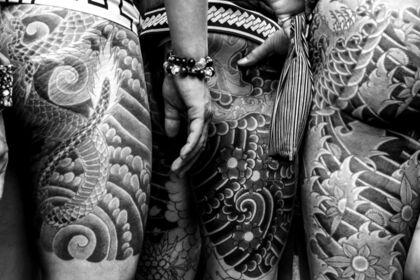 Irezumi, the art of japanese Tattoo