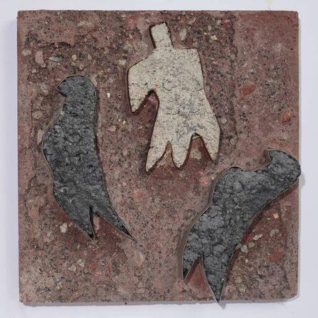 Siri Derkert, 'Fåglar och människa', ca. 1950