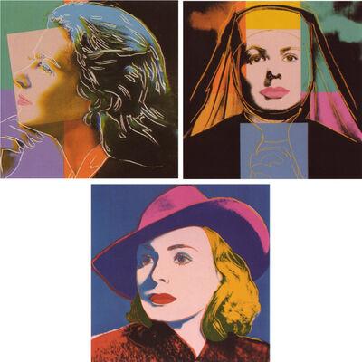 Andy Warhol, 'Ingrid Bergman', 1983