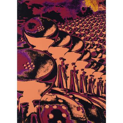 Ruth Francken, 'La manif (série B)', 1973