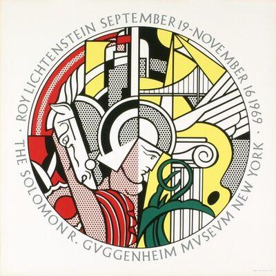 Roy Lichtenstein, 'Roy Lichtenstein, Sept. 19-Nov. 16, 1969, The Solomon R. Guggenheim Museum, New York, NOT A REPRODUCTION', 1969